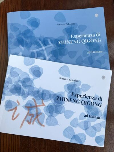 copertina libro Esperienza di Zhineng Qigong Susanna Bellafiore