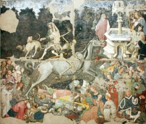 Triumph of Death Palazzo Abatellis